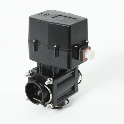 altek's 3 way central valve incorporates a highly durable stainless steel ball to ensure extreme longevity of the part