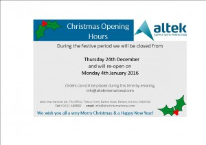 christmas opening hrs...